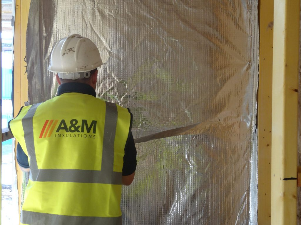 Timber Frame Insulation for New Builds