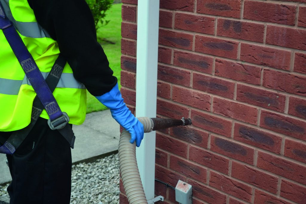 Cavity Wall Insulation For Contractors A Amp M Energy