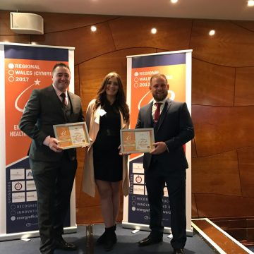 Award winners at Wales Regional Energy Efficiency Homes Awards 2017