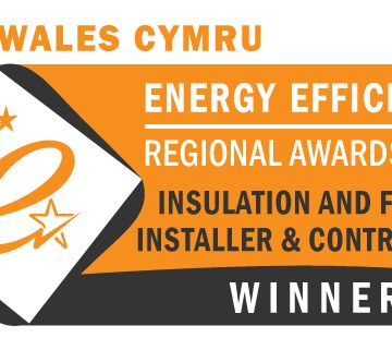 Winners at the Energy Efficiency Awards, Wales!