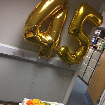 A&M's 45 year anniversary